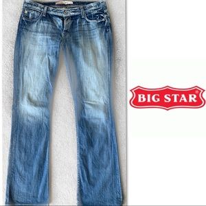 Big Star Hazel Curvy Fit Jeans SZ 33 XL  35 inseam